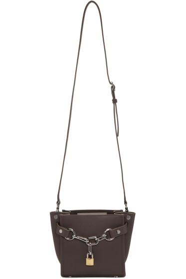 Alexander Wang - Grey Mini Attica Shoulder Bag