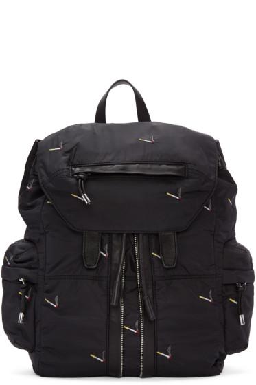 Alexander Wang - Black Marti Cigarette Backpack