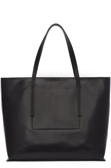 Rick Owens - Black Big Shopper Tote Bag