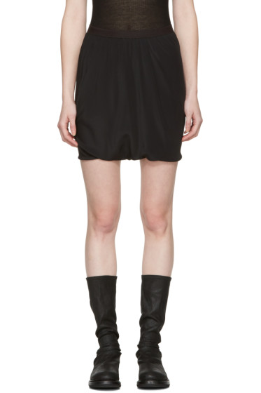 Rick Owens - Black Bud Shorts