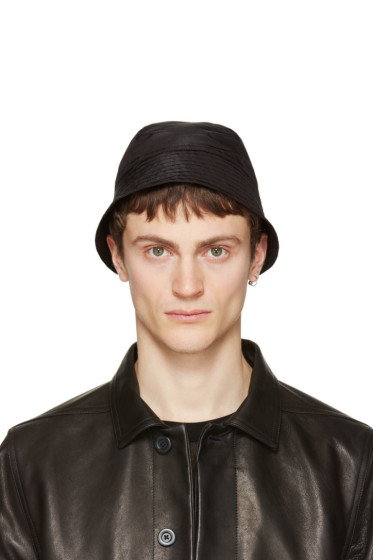 Rick Owens - Black Giligan Hat