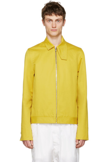 Rick Owens - Yellow Brother Jacket