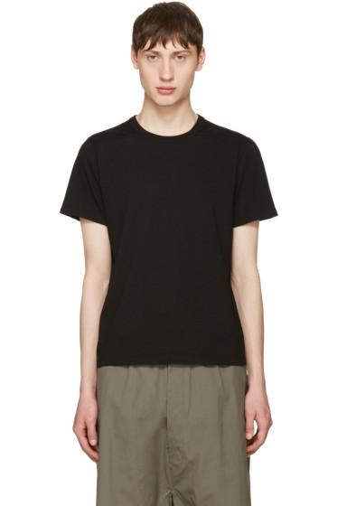 Rick Owens - Black Short Level T-Shirt