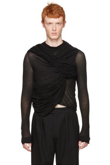 Rick Owens - Black Trunk T-Shirt