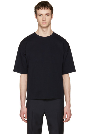 Jil Sander - Navy Punto Roma T-Shirt