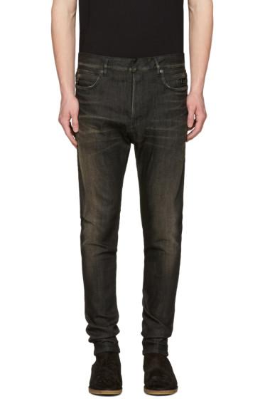 Balmain - Black Low-Rise Jeans