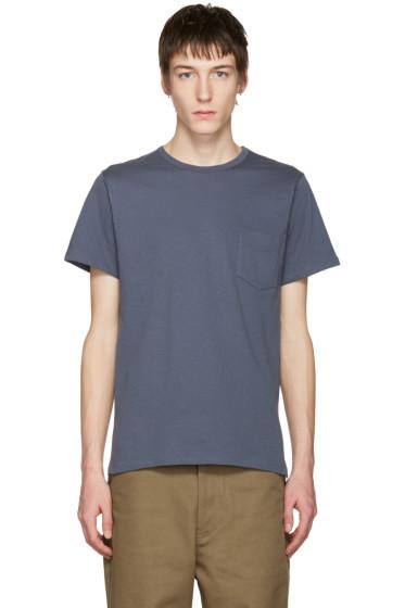 A.P.C. - Blue Pocket T-Shirt