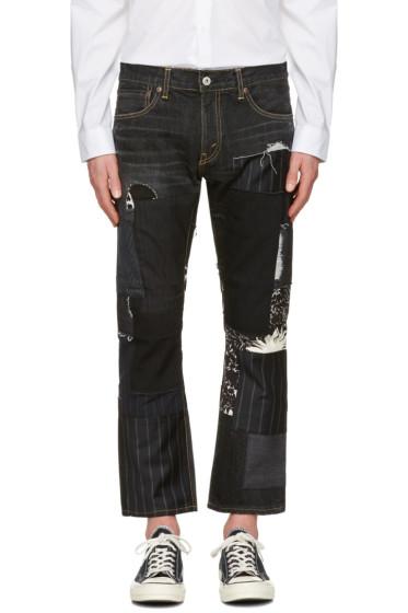 Junya Watanabe - Black Patchwork Jeans