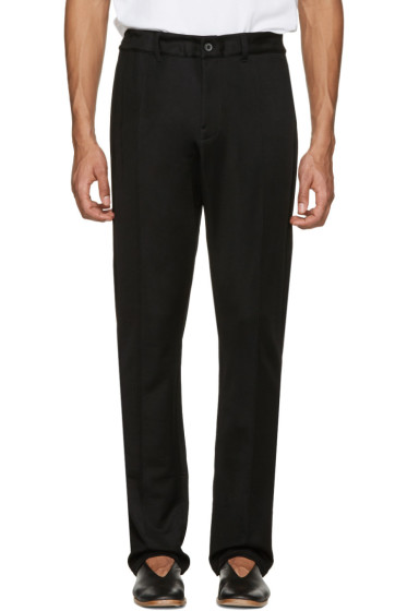 Lanvin - Black Retro Lounge Pants