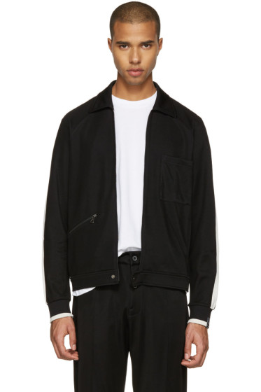 Lanvin - Black Retro Track Jacket