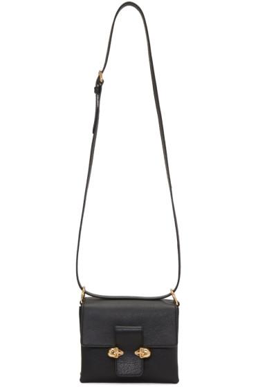 Alexander McQueen - Black Twin Skull Shoulder Bag