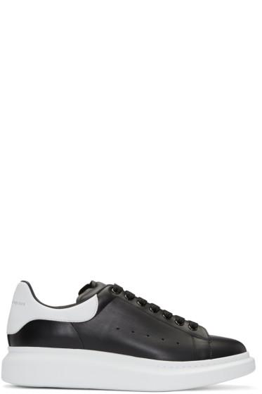 Alexander McQueen - Black Oversized Sneakers