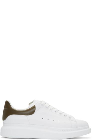 Alexander McQueen - White Oversized Sneakers