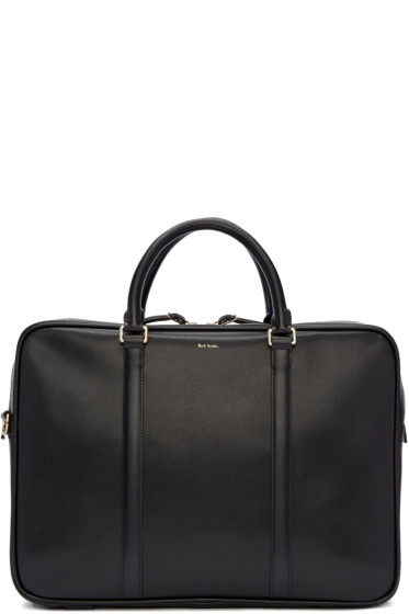 Paul Smith - Black Folio Briefcase