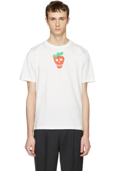 Paul Smith - White Strawberry Skull T-Shirt