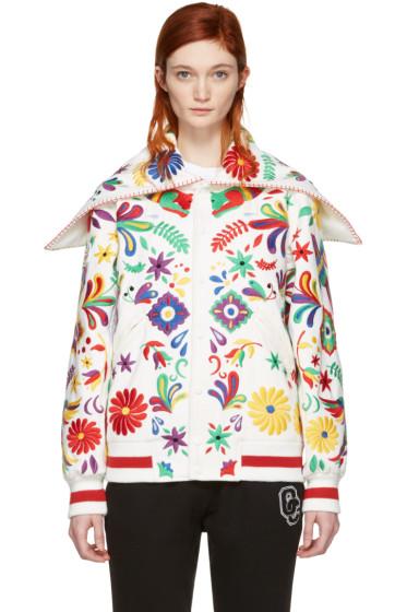Opening Ceremony - White Mexico Global Varsity Jacket