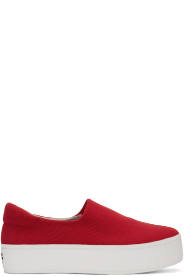 Opening Ceremony - Red Cici Slip-On Sneakers