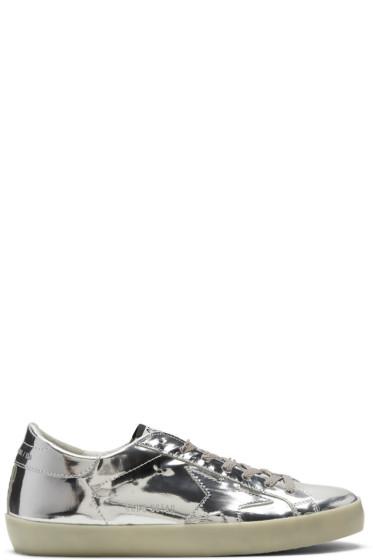 Golden Goose - Silver Metal Superstar Sneakers