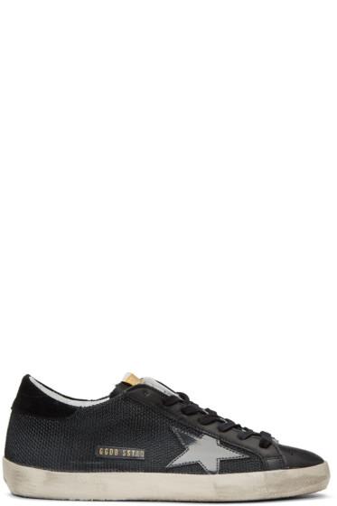 Golden Goose - Black Cord Superstar Sneakers