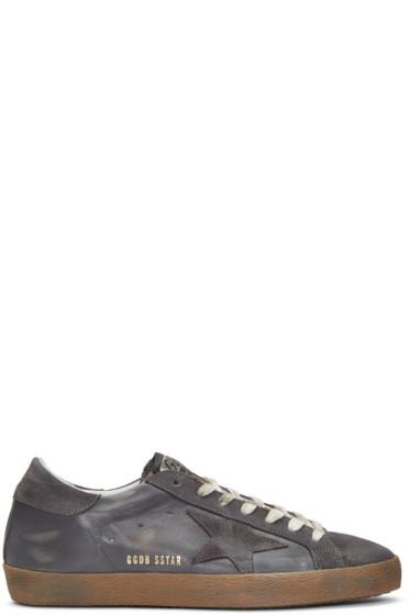 Golden Goose - Grey Superstar Sneakers