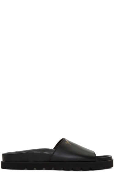 Giuseppe Zanotti - Black Rimba Sandals