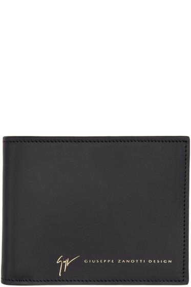 Giuseppe Zanotti - Black Toribel Wallet