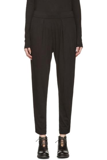 Raquel Allegra - Black Jersey Easy Pants