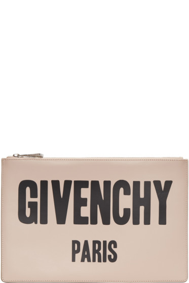 Givenchy - Pink Logo Pouch