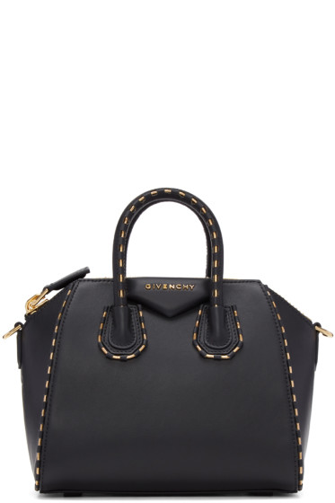 Givenchy - Black Mini Chain Antigona Bag