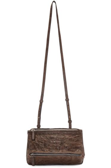 Givenchy - Brown Mini Pandora Bag