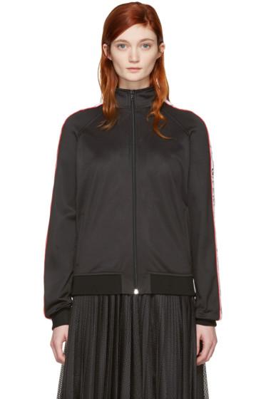 Givenchy - Black Logo Bomber Jacket