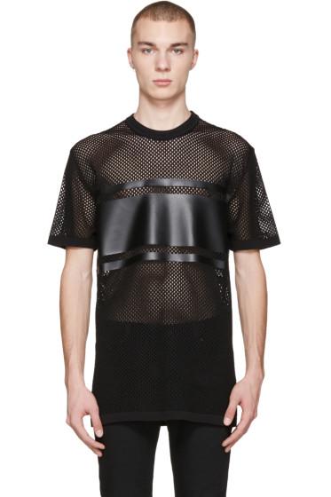 Givenchy - Black Mesh T-Shirt