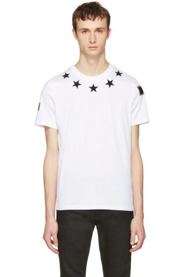Givenchy - White Stars T-Shirt
