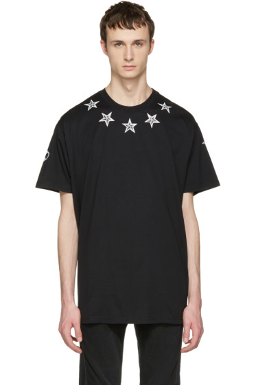 Givenchy - Black Tattoo T-Shirt