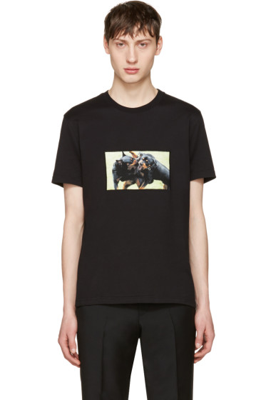Givenchy - Black Rottweiler T-Shirt