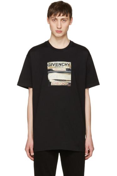 Givenchy - Black Logo Graphic T-Shirt