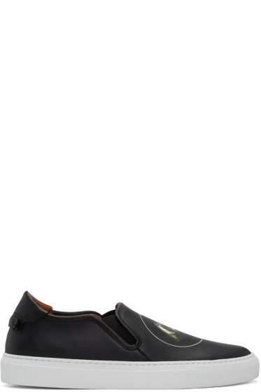 Givenchy - Black Monkey Brothers Street Skate III Slip-On Sneakers