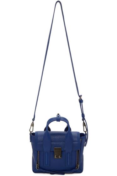 3.1 Phillip Lim - Blue Mini Pashli Satchel
