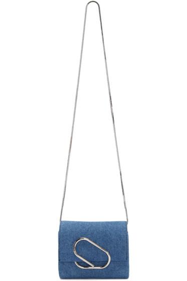 3.1 Phillip Lim - Indigo Denim Micro Alix Bag