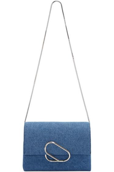 3.1 Phillip Lim - Indigo Denim Alix Flap Bag