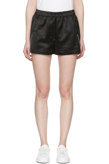 3.1 Phillip Lim - Black Western Shorts