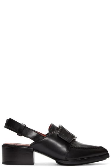 3.1 Phillip Lim - Black Buckle Loafers
