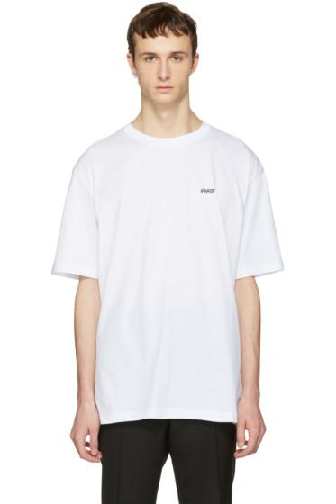 Raf Simons - White Hyena T-Shirt