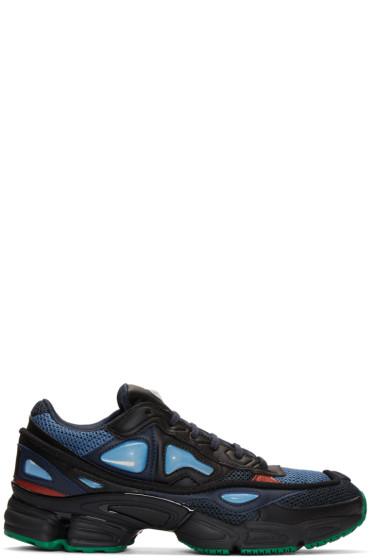 Raf Simons - Navy adidas Originals Edition Ozweego 2 Sneakers