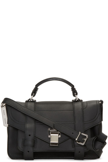 Proenza Schouler - Black Tiny PS1+ Satchel