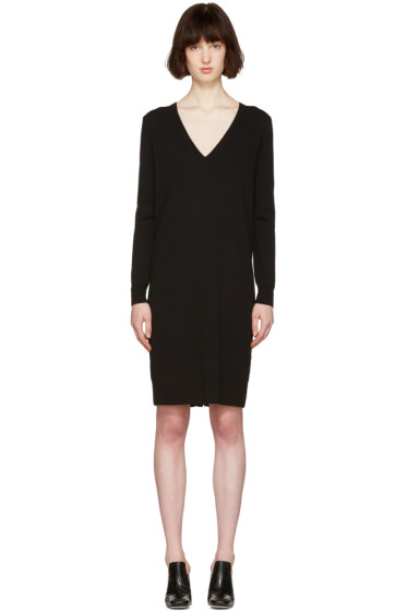 Proenza Schouler - Black Button Back Dress