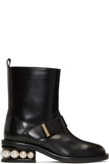 Nicholas Kirkwood - Black Casati Pearl Boots