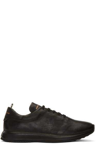 Officine Creative - Black Race 1 Sneakers