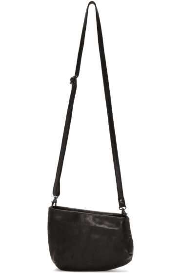 Marsèll - Black Slanted Fantasmino Shoulder Bag