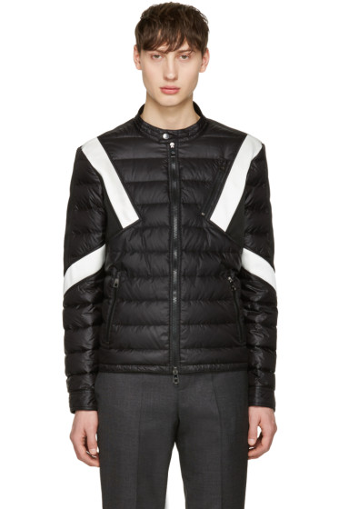 Neil Barrett - Black & White Apres Ski Jacket